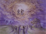 The two witnesses ascending to heaven (REV. 11:12)