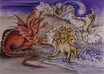 The three beasts and 666 (REV. 13)